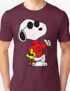 Snoopy and Woodstock Joe Cool T-Shirt