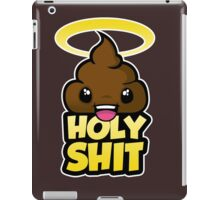 holy shit iPad Case/Skin
