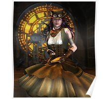 Victorian Clockwork Poster