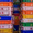 colorful containers by dominiquelandau