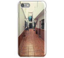 Spanish vitage houses iPhone Case/Skin