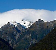 Aoraki, Mt Cook from the West by Odille Esmonde-Morgan