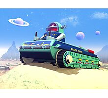 Toy Space Tank Photographic Print