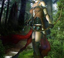The Elven Watcher by InertiaK
