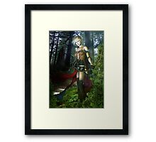The Elven Watcher Framed Print