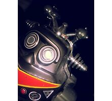 Retro Toy Robot Photographic Print