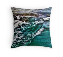 Choppy Waters, Seto Inland Sea, Japan Throw Pillow