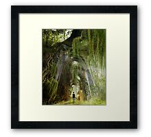 A Path to Inner Peace Framed Print
