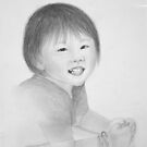 Child Drawing by mochilady