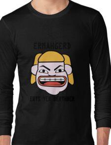 Ermahgerd herper berthder geek funny nerd Long Sleeve T-Shirt