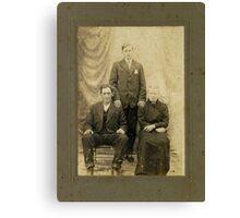 Mr. Martin Tosh , Rutherford, Tenn. Canvas Print