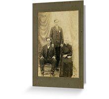 Mr. Martin Tosh , Rutherford, Tenn. Greeting Card