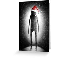 Noel Noir Greeting Card