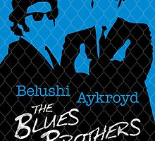 The Blues Brothers - Movie Poster by 547Design