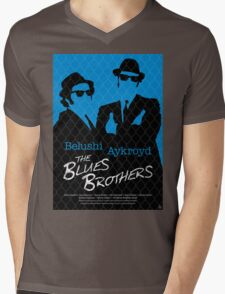 The Blues Brothers - Movie Poster Mens V-Neck T-Shirt