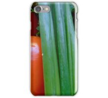 onion and bell pepper iPhone Case/Skin
