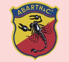 Classic Car Logos: Abarth & C. One Piece - Long Sleeve