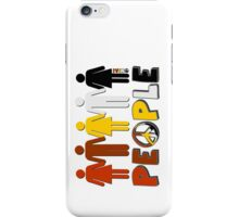 People 4 WORLD PEACE iPhone Case/Skin