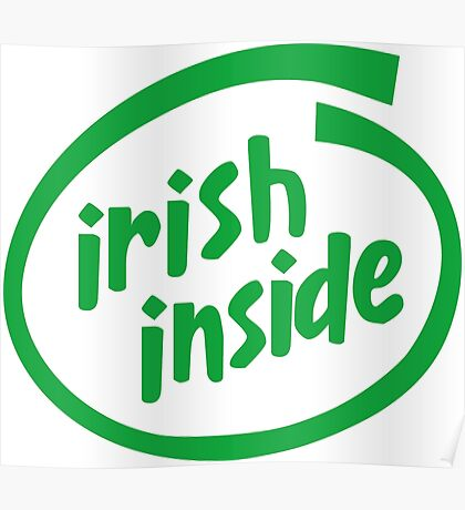Irish Inside Poster