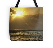 Sunrise over the Caribbean Tote Bag