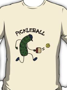 Funny pickle playing pickleball geek funny nerd T-Shirt