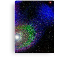 A SOLAR SYSTEM SOMEWHERE Canvas Print