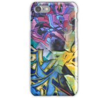 Graffiti Color Collage, Urban Street Art iPhone Case/Skin