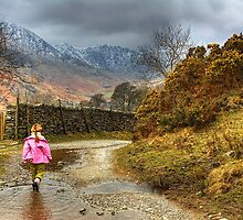 Little Girl Along The Lane by embracelife