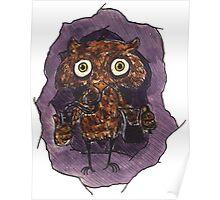 Owlin' Poster