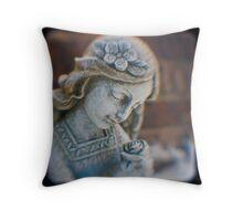 Angel Rose Throw Pillow
