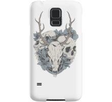 Skulls & flowers Samsung Galaxy Case/Skin