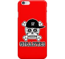 Gigantes skull cap copy geek funny nerd iPhone Case/Skin