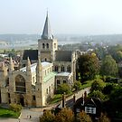 Rochester Cathedral by Crin