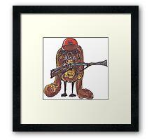 The rabbitish hunter Framed Print