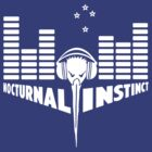 Nocturnal Kiwi (white) by clockworkshirts