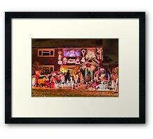 Did Someone Mention Christmas ??  - HDR Framed Print