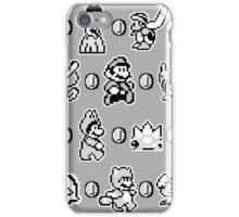 SUPER MARIO BROS 3 (B&N) iPhone Case/Skin
