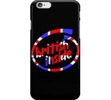 British Inside iPhone Case/Skin