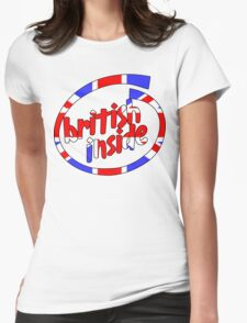 British Inside Womens Fitted T-Shirt