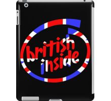 British Inside iPad Case/Skin