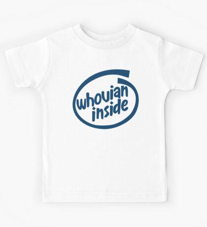 Whovian Inside Kids Tee