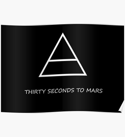 30 Seconds to Mars Triade Poster