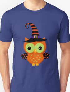 Halloween owl geek funny nerd T-Shirt