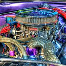Purple Under the Hood by Thomas Young
