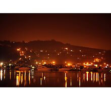 Midnight on the Medway  Photographic Print