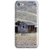 Bannack Ghost Town - Bachelors Row iPhone Case/Skin