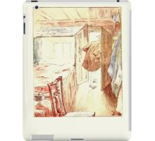 The Tailor of Gloucester Beatrix Potter 1903 0021 Tailor Stepping Out iPad Case/Skin