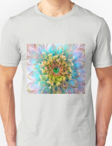 Beauty is in the Eye of the Beholder (Green Center) T-Shirt