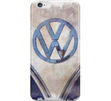 Vintage Volkswagen Art iPhone Case/Skin