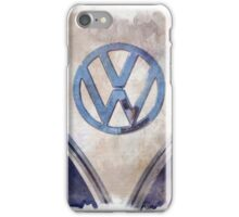 Vintage Volkswagen Art iPhone Case/Skin